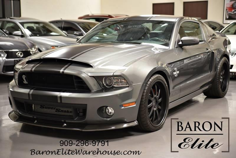 2013 Ford Shelby Gt500 Super Snake In Upland Ca Baron Elite