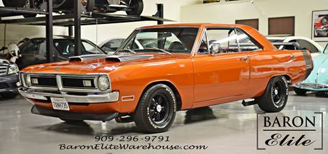 1970 Dodge Dart for sale at Baron Elite in Upland CA