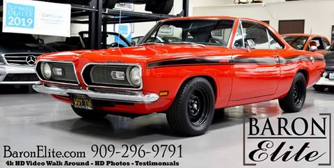 1969 Plymouth Barracuda for sale in Upland, CA