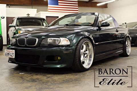2002 BMW M3 for sale in Upland, CA