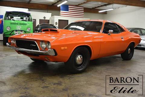1972 Dodge Challenger for sale at Baron Elite in Upland CA