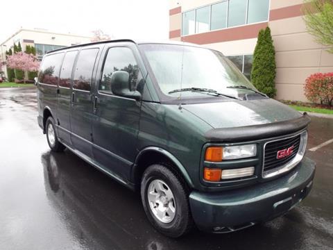 2001 GMC Savana Passenger for sale in Auburn, WA