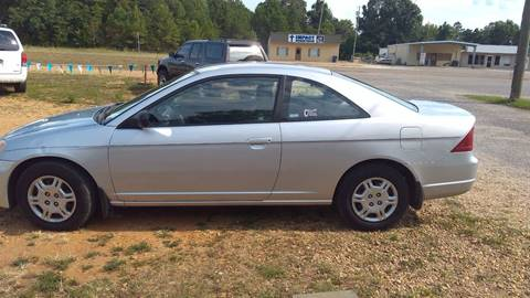 2002 Honda Civic for sale in Pontotoc, MS