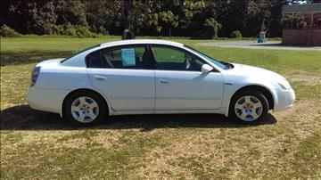 2002 Nissan Altima for sale in Pontotoc, MS