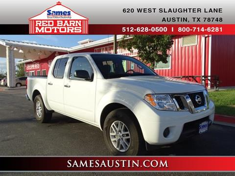 2016 Nissan Frontier for sale in Austin, TX
