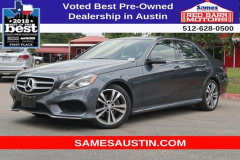 2016 Mercedes-Benz E-Class for sale in Austin, TX