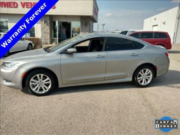 2015 Chrysler 200 for sale in Lafayette, IN
