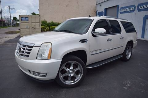 2007 Cadillac Escalade ESV for sale in Hollywood, FL