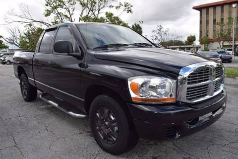 2006 Dodge Ram Pickup 1500 for sale in Hollywood, FL
