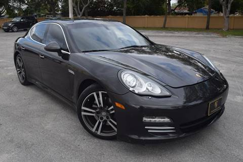 2011 Porsche Panamera for sale in Hollywood, FL