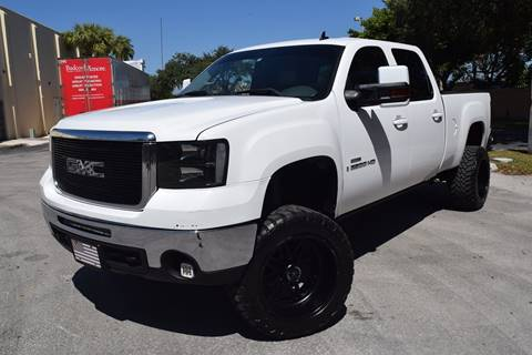 2008 GMC Sierra 2500HD for sale in Hollywood, FL