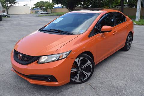 2015 Honda Civic for sale in Hollywood, FL