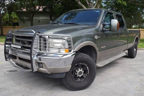 2003 Ford F-250 Super Duty for sale in Hollywood, FL