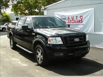 2005 Ford F-150 for sale in Hollywood, FL