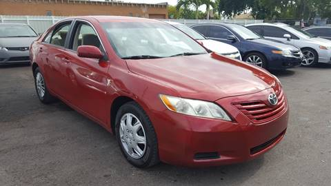 2007 Toyota Camry for sale in Hollywood, FL