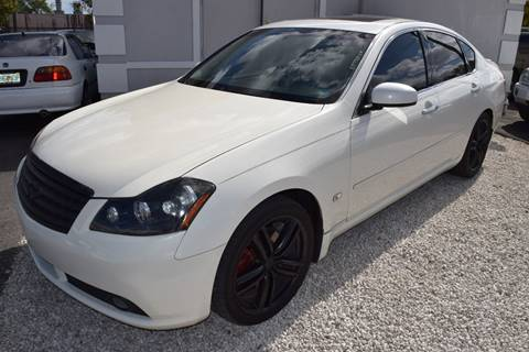 2007 Infiniti M35 for sale in Hollywood, FL