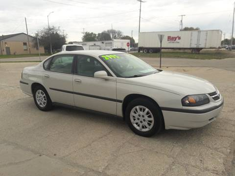 2004 Chevrolet Impala for sale in Mt Pleasant, WI