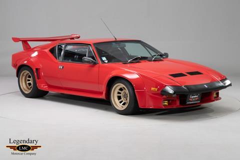 1985 De Tomaso Pantera for sale in Halton Hills, ON
