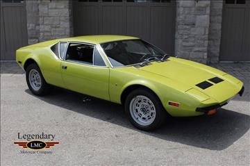 1972 De Tomaso Pantera for sale in Halton Hills, ON
