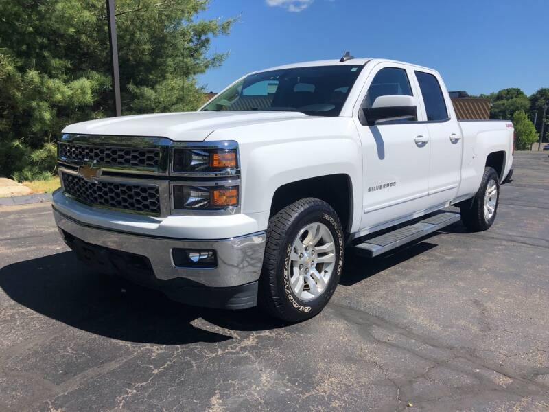 2015 Chevrolet Silverado 1500 4x4 LT 4dr Double Cab 6.5 ft. SB - Branford CT