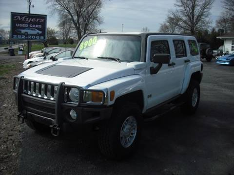 2006 HUMMER H3 for sale in Harrisburg, IL
