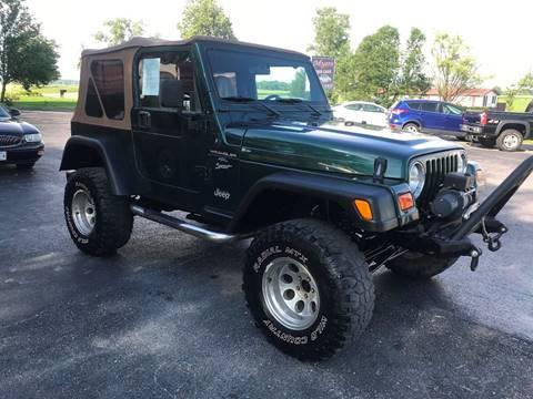 2000 Jeep Wrangler for sale in Harrisburg, IL