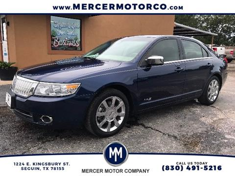 2007 Lincoln MKZ for sale in Seguin TX