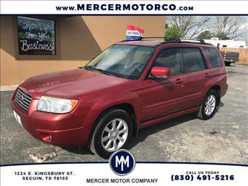 2008 Subaru Forester for sale in Seguin, TX