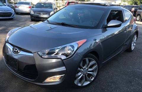 2013 Hyundai Veloster for sale at CHECK  AUTO INC. in Tampa FL