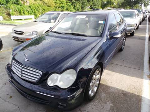 2005 Mercedes-Benz C-Class for sale at CHECK  AUTO INC. in Tampa FL