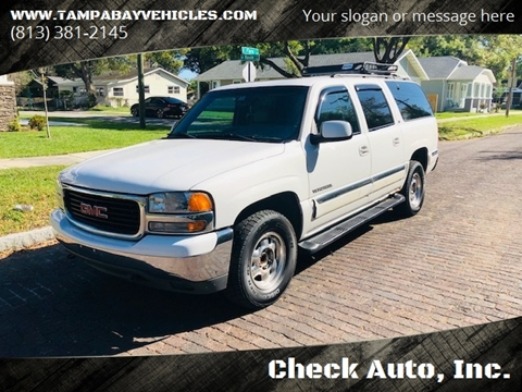 2001 GMC Yukon XL for sale in Tampa, FL