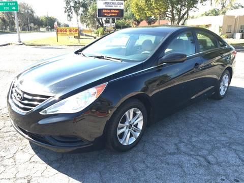 2011 Hyundai Sonata for sale at CHECK  AUTO INC. in Tampa FL