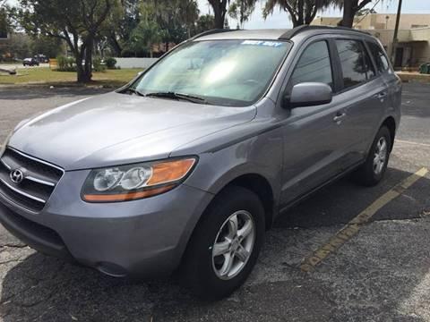 2008 Hyundai Santa Fe for sale at CHECK  AUTO INC. in Tampa FL