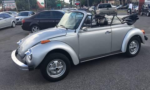 1979 Volkswagen Beetle Convertible for sale in Tampa, FL
