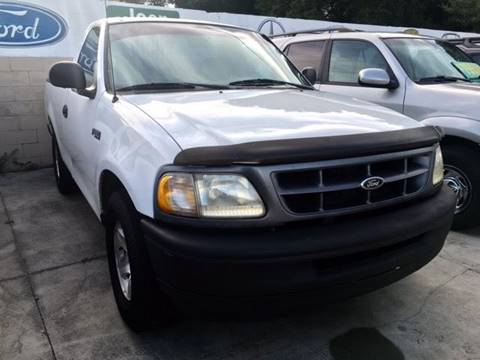 1998 Ford F-150 for sale at CHECK  AUTO INC. in Tampa FL