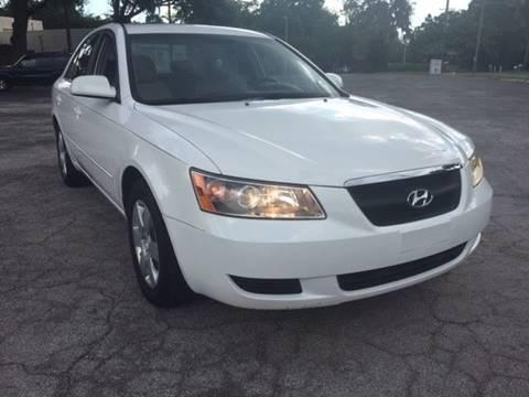2007 Hyundai Sonata for sale at CHECK  AUTO INC. in Tampa FL