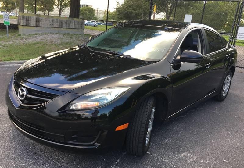 2012 Mazda MAZDA6 for sale at CHECK  AUTO INC. in Tampa FL