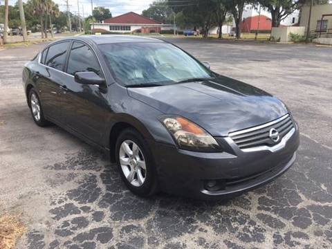 2007 Nissan Altima for sale at CHECK  AUTO INC. in Tampa FL
