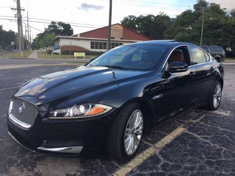 2012 Jaguar XF for sale at CHECK  AUTO INC. in Tampa FL