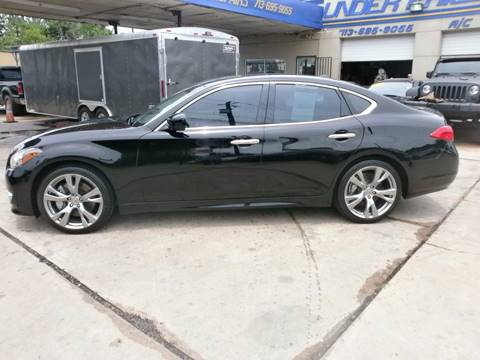 2011 Infiniti M37 for sale at Under Priced Auto Sales in Houston TX