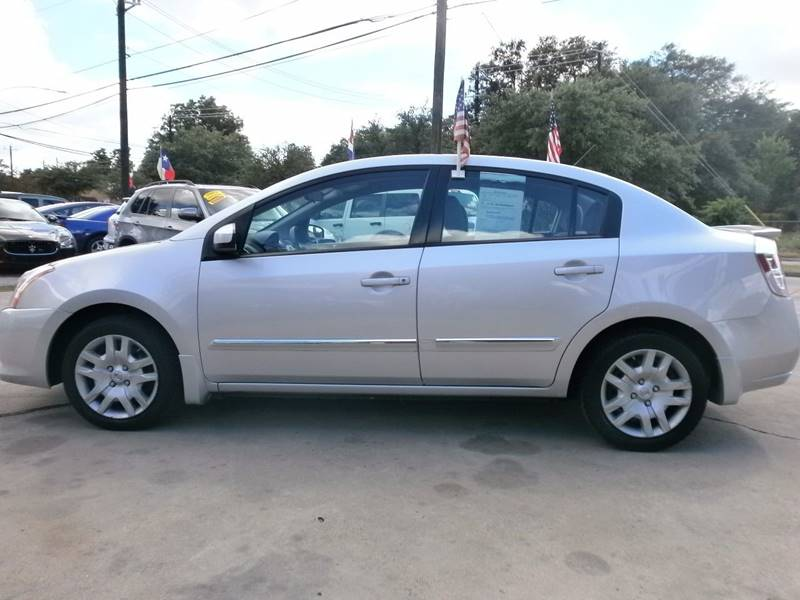 2012 Nissan Sentra for sale at Under Priced Auto Sales in Houston TX