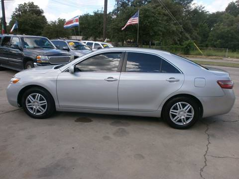 2008 Toyota Camry for sale at Under Priced Auto Sales in Houston TX