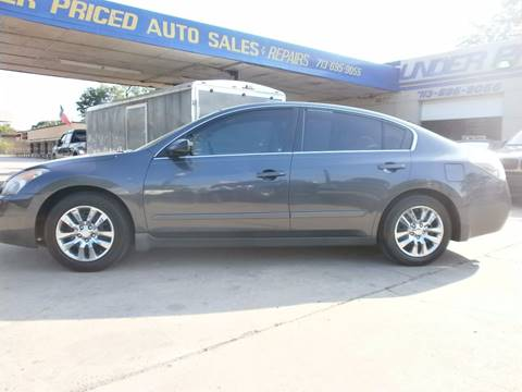 2008 Nissan Altima for sale at Under Priced Auto Sales in Houston TX