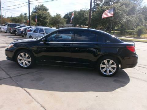 2011 Chrysler 200 for sale at Under Priced Auto Sales in Houston TX