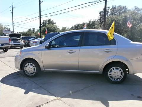 2007 Chevrolet Aveo for sale at Under Priced Auto Sales in Houston TX