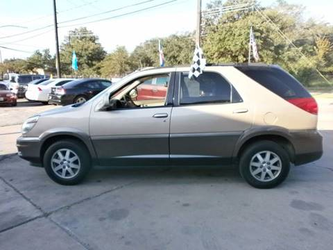 2004 Buick Rendezvous for sale at Under Priced Auto Sales in Houston TX