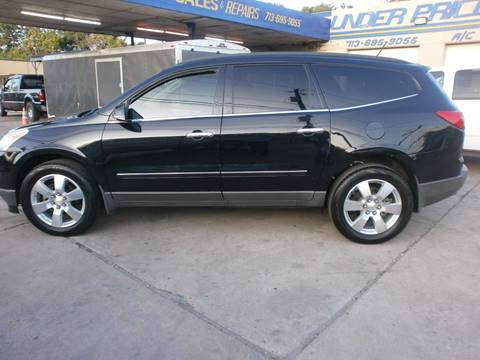 2012 Chevrolet Traverse for sale at Under Priced Auto Sales in Houston TX