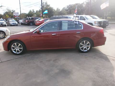 2005 Infiniti G35 for sale at Under Priced Auto Sales in Houston TX