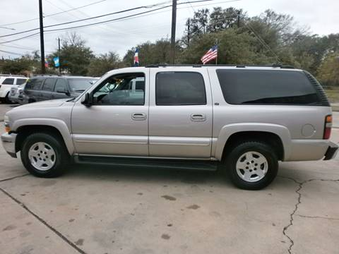 2004 Chevrolet Suburban for sale at Under Priced Auto Sales in Houston TX