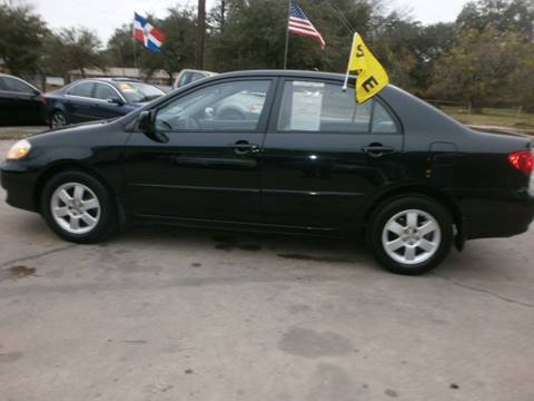2004 Toyota Corolla for sale at Under Priced Auto Sales in Houston TX